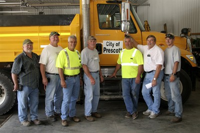 City of Prescott Public Works Crew